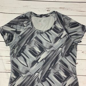 Under Armour Fitted Exercise Shirt Size Small